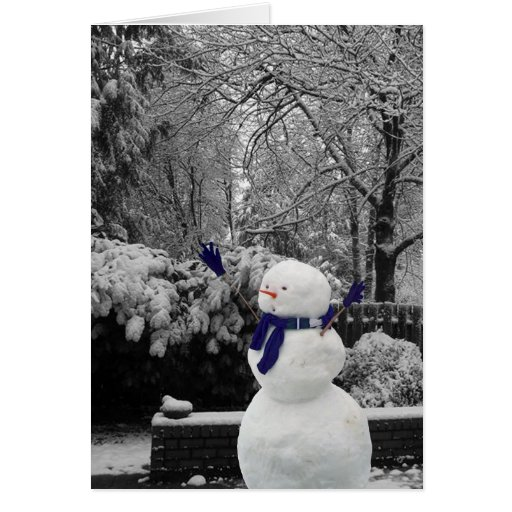 Winter Games w/ Frosty Greeting Cards