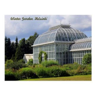 Winter Garden, Helsinki Postcard