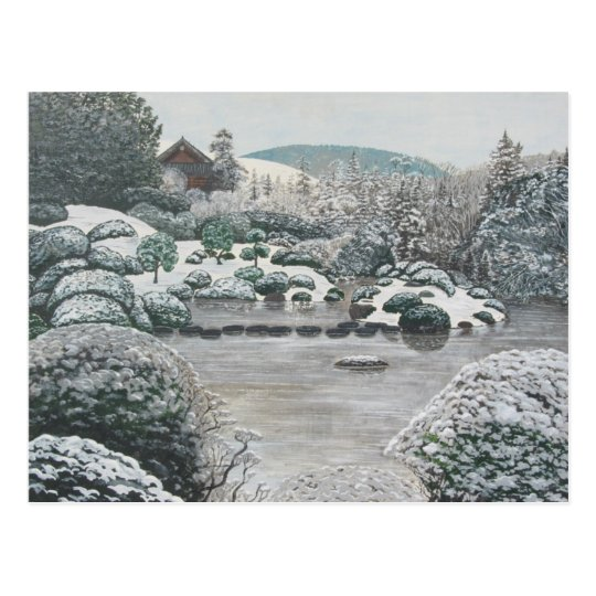 Winter Garden Postcard