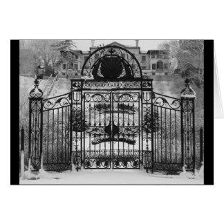 Winter Gate Card