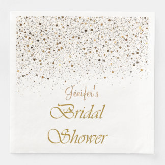 Winter glitter bridal shower  Napkins Paper Napkins