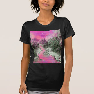 Winter Glow Pink T-Shirt