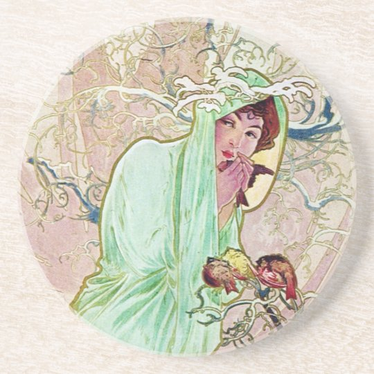 Winter Goddess Coaster
