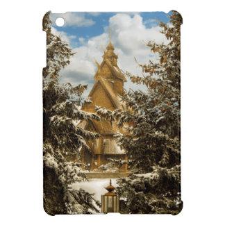 Winter Gol Church Minot North Dakota iPad Mini Covers