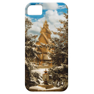 Winter Gol Church Minot North Dakota iPhone 5 Case