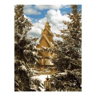 Winter Gol Church Minot North Dakota Letterhead