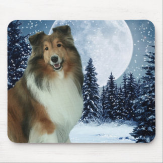 Winter Grace Mouspad Mouse Pad