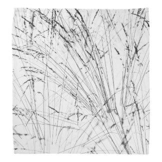 Winter Grass In Snow Bandannas