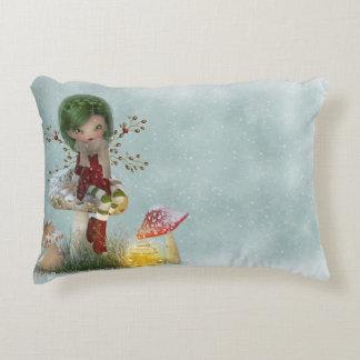 Winter Green Decorative Pillow