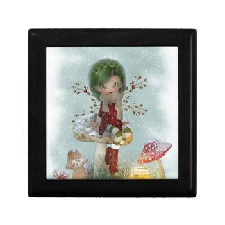 winter green gift box