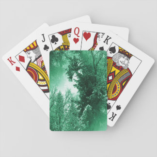Winter Green... Playing Cards