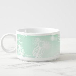 Winter Green Snowflake Bowl