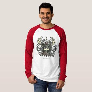 Winter-Greenman Holiday/Solstice raglan shirt