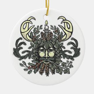 Winter-Greenman ornament