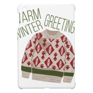 Winter Greetings iPad Mini Cases