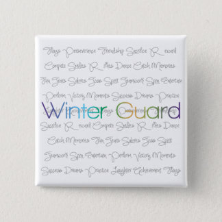 Winter Guard Buttons