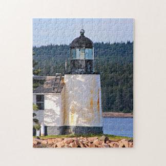 Winter Harbor Lighthouse, Maine Puzzle