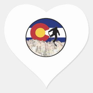Winter Haven Heart Sticker