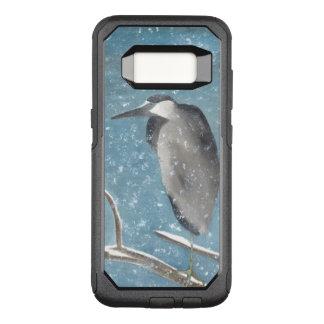 Winter Heron OtterBox Commuter Samsung Galaxy S8 Case