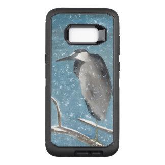Winter Heron OtterBox Defender Samsung Galaxy S8+ Case