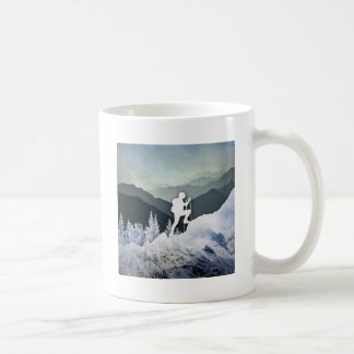 Winter Hike Coffee Mug
