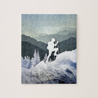 Winter Hike Jigsaw Puzzle