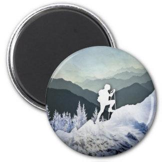 Winter Hike Magnet