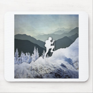 Winter Hike Mouse Pad