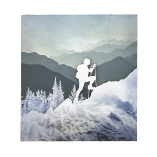 Winter Hike Notepad