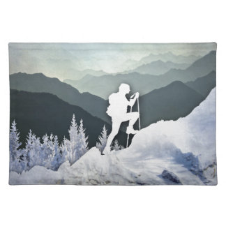 Winter Hike Placemat