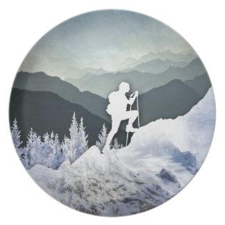 Winter Hike Plate