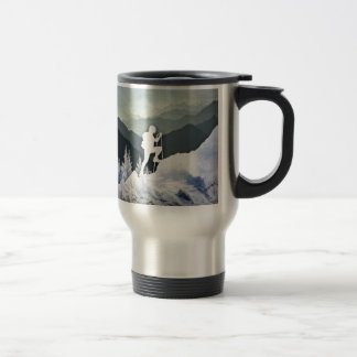 Winter Hike Travel Mug