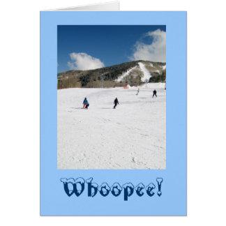 Winter Holiday Adventure Card