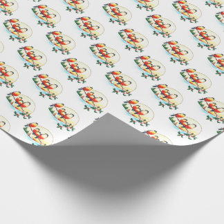 Winter Holiday Birds Nature Lovers Gift Wrap