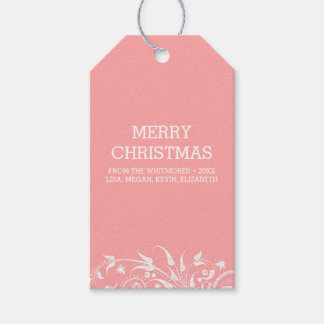 Winter Holidays Blush Pack Of Gift Tags