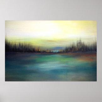 Winter Horizon Poster
