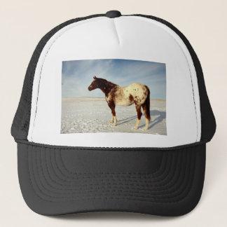 Winter Horse Trucker Hat