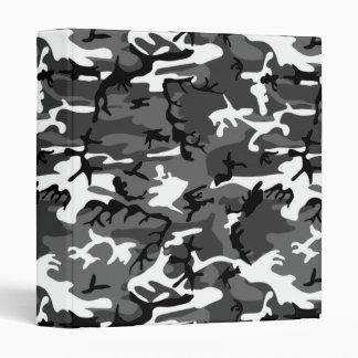 Winter Ice Camo Vinyl Binders