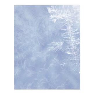 Winter / Ice Design Letterhead