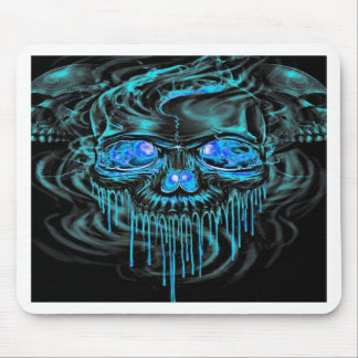 Winter Ice Skeletons Mouse Pad