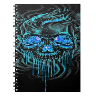 Winter Ice Skeletons Notebook