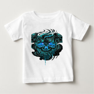 Winter Ice Skeletons PNG Baby T-Shirt