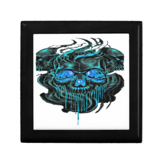 Winter Ice Skeletons PNG Gift Box