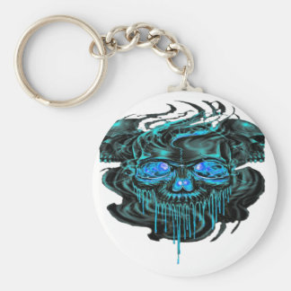 Winter Ice Skeletons PNG Keychain