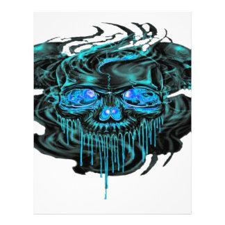 Winter Ice Skeletons PNG Letterhead