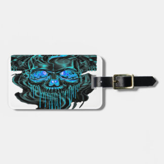 Winter Ice Skeletons PNG Luggage Tag