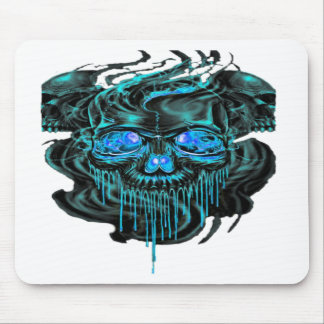Winter Ice Skeletons PNG Mouse Pad
