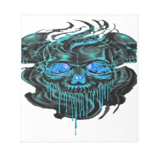 Winter Ice Skeletons PNG Notepad