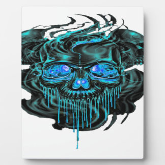 Winter Ice Skeletons PNG Plaque