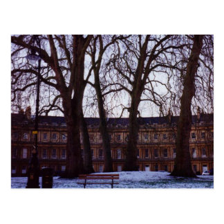 Winter in Bath Postcard